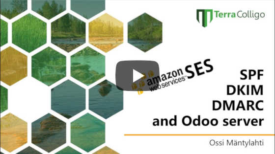 Odoo Server E-Mail Setup: SPF, DKIM, and DMARC Explained